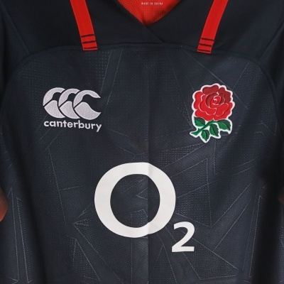 """England Rugby Away Shirt 2017-2018 Player Issue (M) """"Perfect"""""""