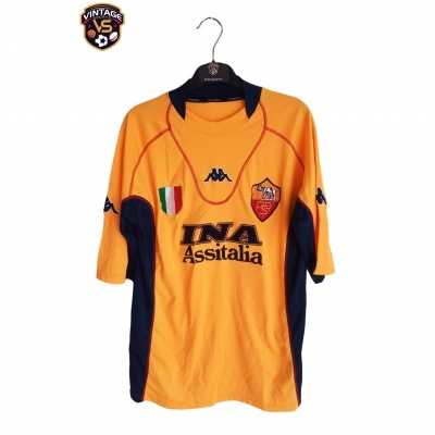 "AS Roma Third Shirt 2001-2002 (L) ""Good"""