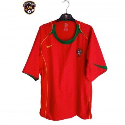 "Portugal Home Shirt 2004-2006 (XL) ""Perfect"""