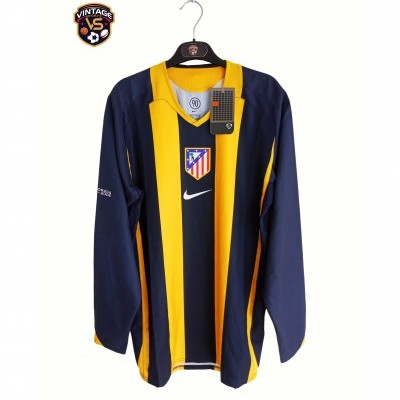 NEW Player Issue Atletico Madrid Away Shirt 2005-2006 (M)