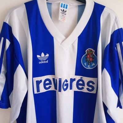 "FC Porto Home Shirt 1990-1993 (XL) ""Good"""