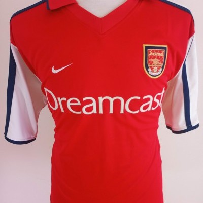 "Arsenal FC Home Shirt 2000-2002 (XL) ""Very Good"""