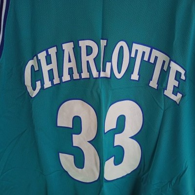 """Charlotte Hornets NBA Jersey #33 Mourning (48) """"Very Good"""""""