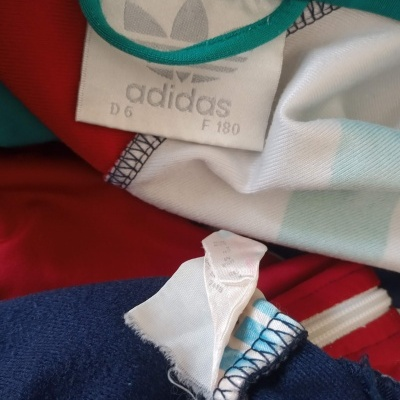 """Vintage Track Top Jacket Tracksuit Adidas (M) """"Good"""""""