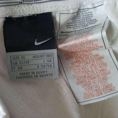 "Footbal Shorts Nike White Black (XL) ""Very Good"""