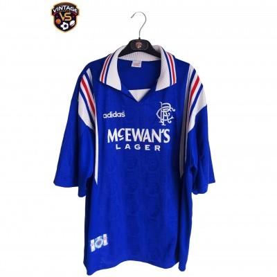 "Glasgow Rangers FC Home Shirt 1996-1997 (XXL) ""Very Good"""