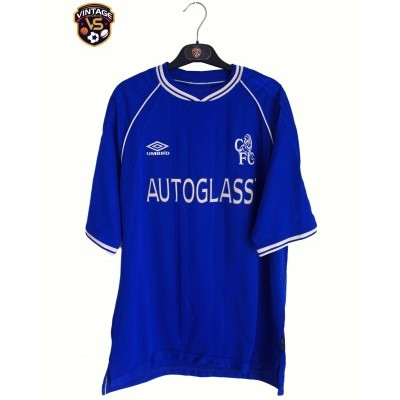 "Chelsea FC Home Shirt 1999-2001 (XL) ""Very Good"""