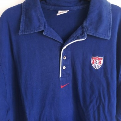 "ISSUE USA US Soccer Polo Shirt 1998 (L) ""Good"""