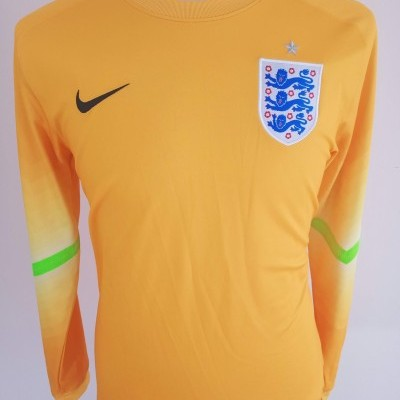 "England Goalkeeper Shirt 2014 (M) ""Very Good"""