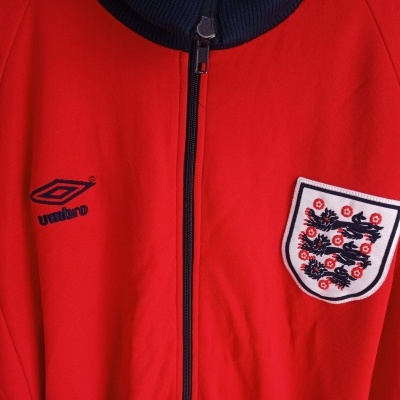 "England Track Top Jacket (L) ""Very Good"""