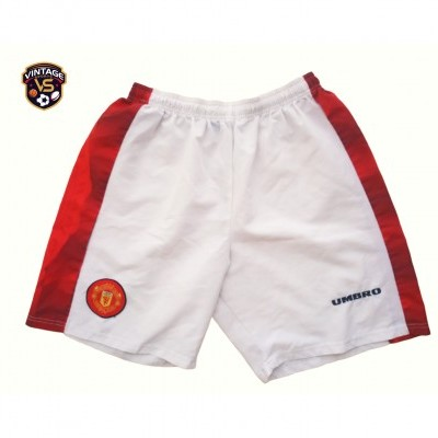 """Manchester United Home Shorts 1996-1998 (36"""") """"Very Good"""""""