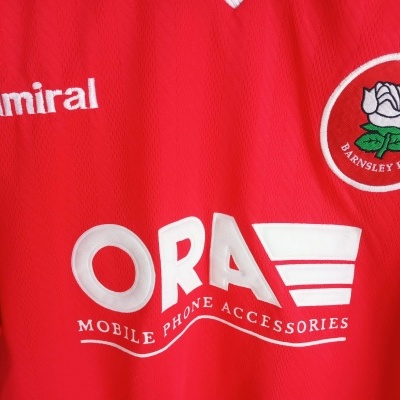 "Barnsley FC Home Shirt 1998-1999 (L) ""Good"""