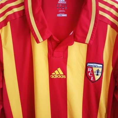 """RC Lens Player Issue Home Shirt 2012-2013 (L) """"Very Good"""""""