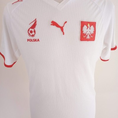 "Poland Home Shirt 2007-2009 (M) ""Very Good"""