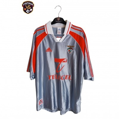 "SL Benfica Away Shirt 1999-2000 #18 Pepa (L) ""Very Good"""