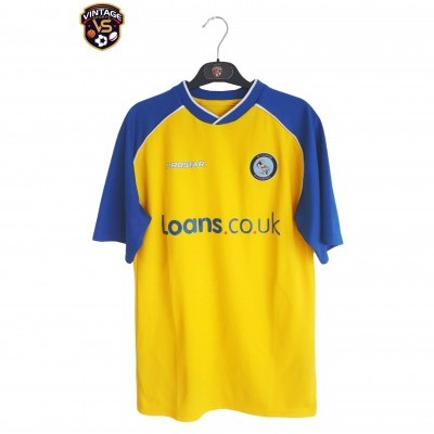 """Wycombe Wanderers FC Home Shirt 2004-2005 (S) """"Good"""""""