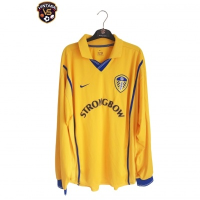 "Leeds United FC Away Shirt L/S 2000-2002 (XL) ""Very Good"""