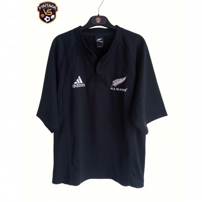 "New Zealand All Blacks Rugby Home Shirt 2007 (M) ""Very Good"""