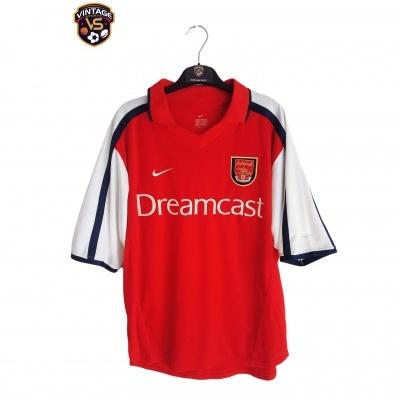 "Arsenal FC Home Shirt 2000-2002 (M) ""Very Good"""
