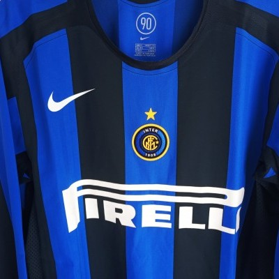 "Player Issue Inter Milan Home Shirt 2005-2006 (M) ""Perfect"""
