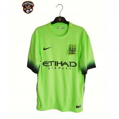 """Manchester City Away Shirt 2015-2016 (L) """"Very Good"""""""