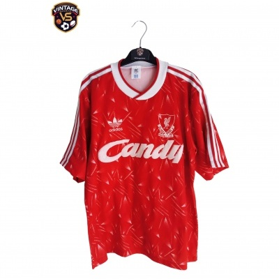 "Liverpool FC Home Shirt 1989-1990 #10 (M) ""Good"""