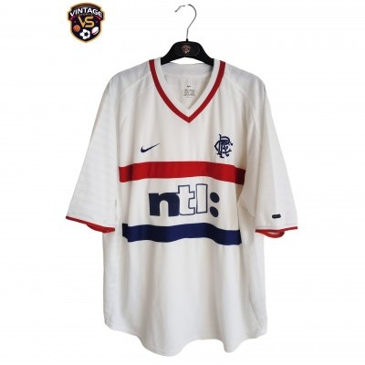 "Glasgow Rangers FC Away Shirt 2000-2001 (XL) ""Very Good"""