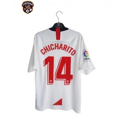 NEW Sevilla Home Shirt 2019-2020 #14 Chicharito (M)