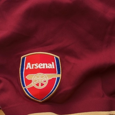 """Arsenal FC Away Shorts Player Issue 2007-2008 (XL) """"Perfect"""""""