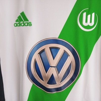 "VFL Wolfsburg Home Shirt 2013-2014 #8 Vieirinha (S) ""Very Good"""