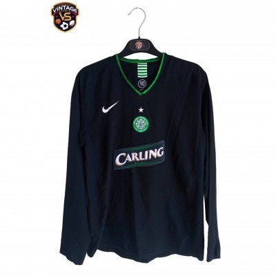 "Celtic Glasgow FC Long Sleeve Third Shirt 2005-2007 (XL Youths) ""Average"""