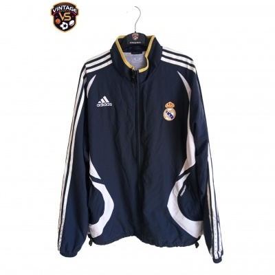 """Real Madrid Track Top Jacket 2006-2007 (L) """"Very Good"""""""