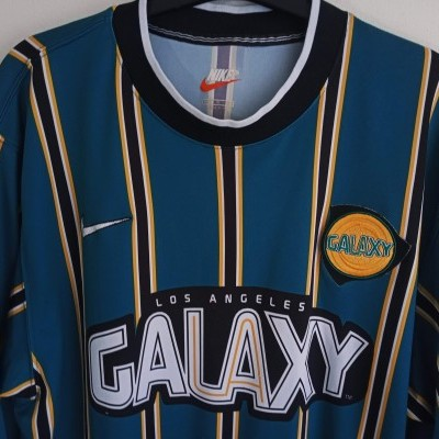 "LA Los Angeles Galaxy MLS Home Shirt 1997-1998 (L) ""Very Good"""