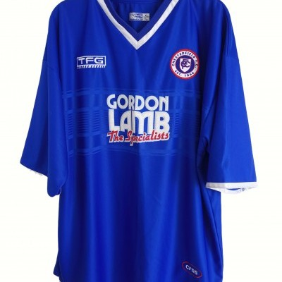 "Chesterfield FC Home Shirt 2001-2002 (XL) ""Good"""