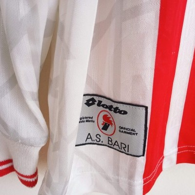 "AS Bari Calcio Home Shirt 1997-1998 (M) ""Good"""