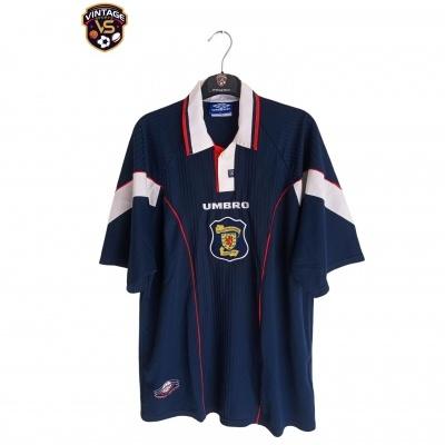 "Scotland Home Shirt 1996-1998 (XL) ""Very Good"""