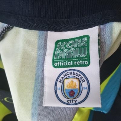 "Retro Manchester City Away Shirt 1998-1999 (L) ""Very Good"""