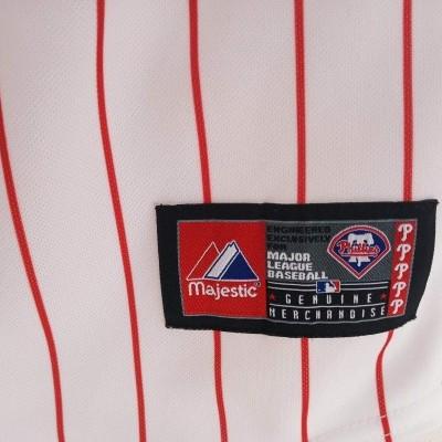 "Philadelphia Phillies MLB Baseball Pinstrip Jersey (Boys) ""Perfect"""
