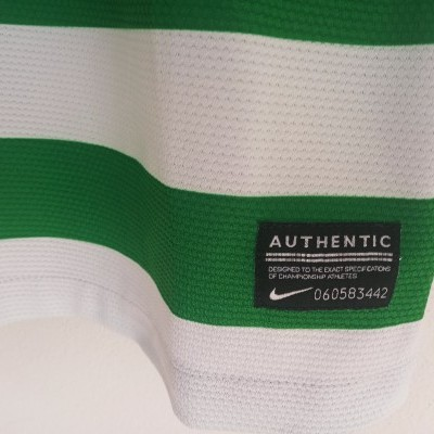 """Celtic Glasgow FC 125 Years Home Shirt 2012-2013 (L) """"Perfect"""""""