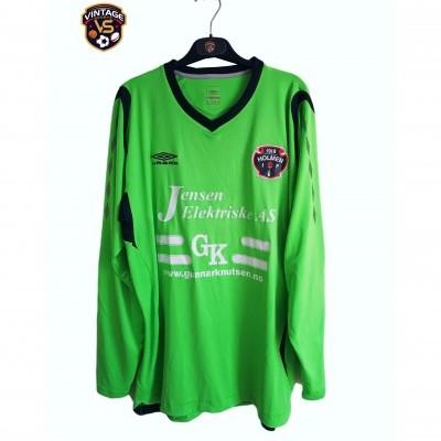 """Matchworn Holmen IF Goalkeeper Shirt #12 (L) """"Good"""""""