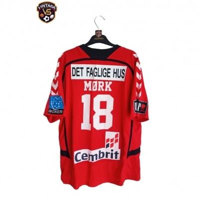 "Matchworn Aalborg Handbold Handball Shirt #18 Mørk (XL) ""Very Good"""