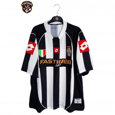 """Juventus Home Shirt 2002-2003 (XL) """"Very Good"""""""