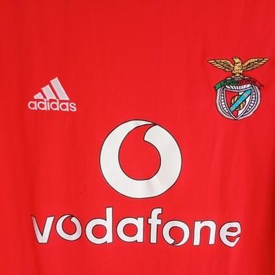 "SL Benfica European Cup Shirt 2003-2004 (S) ""Very Good"""