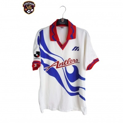 "Kashima Antlers Away Shirt 1993-1995 (M) ""Very Good"""