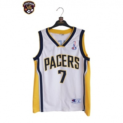 """Indiana Pacers NBA Jersey #7 O'Neal (M) """"Very Good"""""""