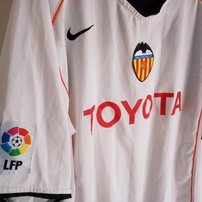"Valencia CF Home Shirt 2004-2005 (XL) ""Very Good"""