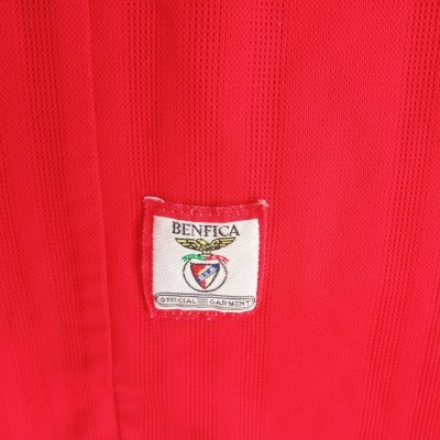 "SL Benfica Home Shirt Without Sponsor 1997-1998 (L) ""Very Good"""