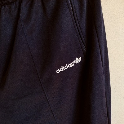 """Vintage Full Tracksuit Adidas Blue Red (L) """"Very Good"""""""
