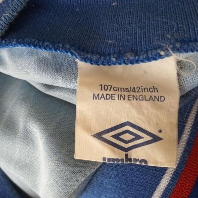 "Ipswich Town FC Home Shirt 1989-1992 (L) ""Very Good"""