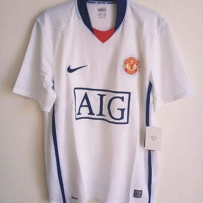 NEW Manchester United Away Shirt 2008-2009 (M)